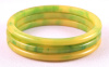 BS4 lemon lime bakelite spacers